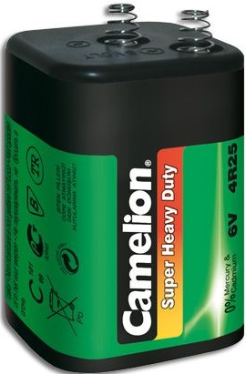 Camelion 4R25R Heavy Duty Lantern Battery - 1 pack (shrink-wrapp