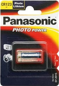 Panasonic Lithium Power CR123 1er Blister