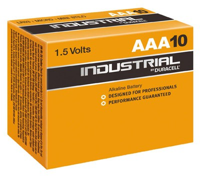 Duracell Industrial MN2400 AAA Mikro 10er Tray