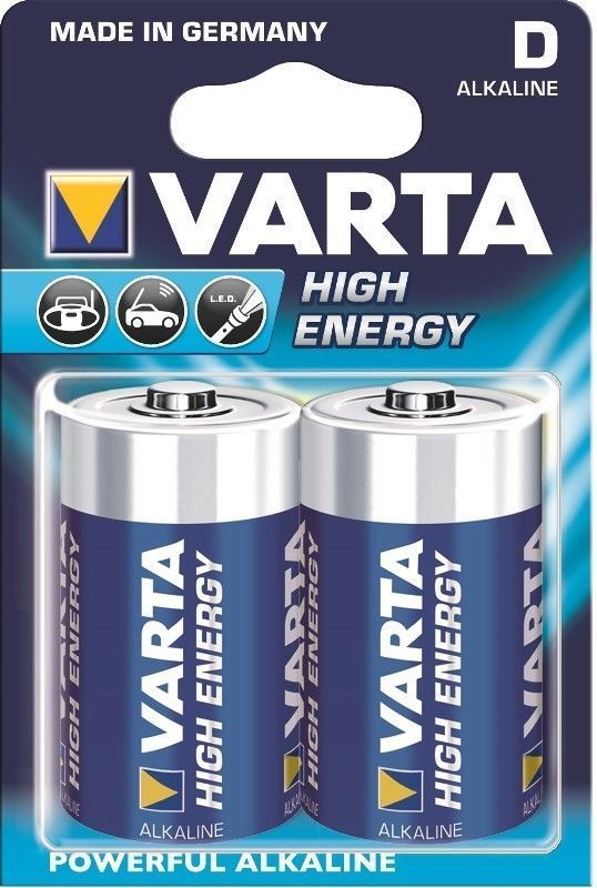 Varta High Energy Long Life Power 4920 D Mono 2er Bli.