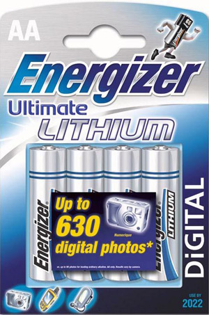 Energizer Ultimate Lithium Mignon AA L91 4er Blister