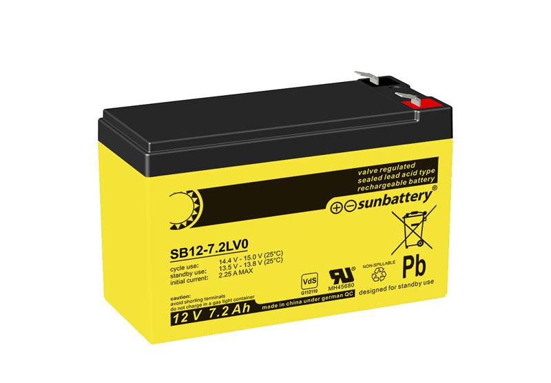 sun battery sb12 7 2l 2030722 battery kutter. Black Bedroom Furniture Sets. Home Design Ideas