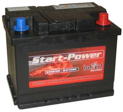 Intact Start-Power 55559