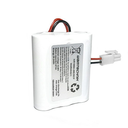 Lithium-Ionen Pack 3S1P 10,95V 2,67Ah