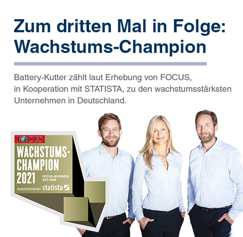 Wachstums-Champion Banner mobil, deutsch