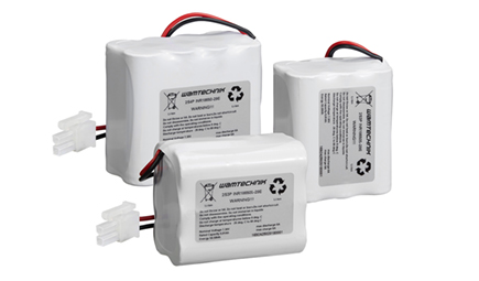 NEW! Standard battery packs UN certified