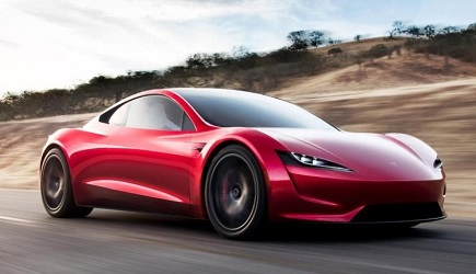 Tesla presents electric lorry and roadster